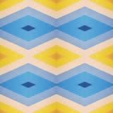 abstract patroonontwerp met besnoeiingen van schuimend in gele en blauwe kleuren, achtergrond en textuur Stock Afbeeldingen