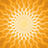 Abstract Pattern. Abstract radiate sunlight pattern background. vector layered Royalty Free Stock Image