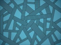 Abstract pattern. Vector contains layer system for easy editing Stock Photo