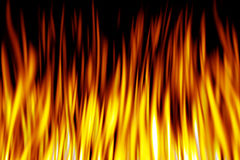 Abstract Pattern. Abstract of computer generated fire and flames Stock Illustration