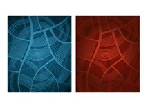 Abstract pattern. With two color variations Stock Image
