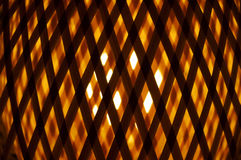 Abstract pattern. With a light source glowing behind royalty free stock photo