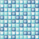 Abstract pattern. Square tiles with different colors royalty free illustration