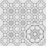 Abstract pattern. A pattern simulating a metal lattice vector illustration