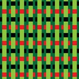 Abstract pattern. Seamless abstract pattern on a green background Stock Images