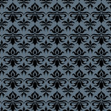 Abstract pattern. Baroque pattern including seamless sample in swatch panel Stock Photography