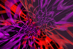 Abstract pattern. Abstract red and violet pattern on the black background Stock Photo
