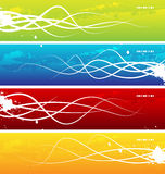 Abstract pattern. Vector abstract patterns in a multicolored background Stock Photo