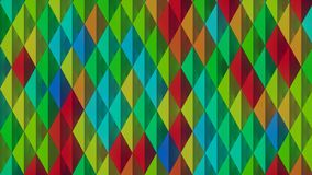 Abstract pattern background of colored shapes 3D rendering Stock Photo