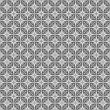 Black and white floral seamless pattern Royalty Free Stock Photography