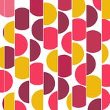 Abstract  pattern background. Abstract  pink circles pattern background Stock Photo