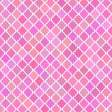 Abstract pattern background in pink colours Stock Image