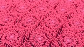Abstract pattern background of pink shapes 3D rendering. Abstract pattern background of three-dimensional pink shapes 3D rendering Royalty Free Stock Photography