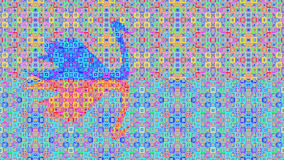 Abstract pattern background Swan Stock Image