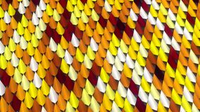 Abstract pattern background of colored shapes 3D rendering. Abstract pattern background of three-dimensional colored shapes 3D rendering Royalty Free Stock Photos