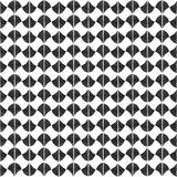 Abstract pattern based on a Traditional African Ornament. Monoch Stock Image