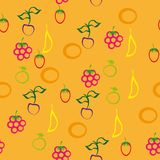 Abstract pattern with berries Stock Image