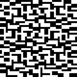 Abstract pattern in black and white. Abstract drawing in black and white Royalty Free Stock Photography
