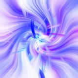 Abstract pattern blue. And lilac swirling in the middle Stock Photo