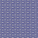 Abstract pattern  blue background Stock Photo