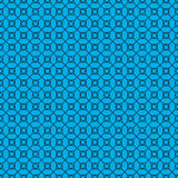 Abstract pattern on blue background Stock Image