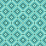 Abstract pattern. Blue geometric abstract decorative pattern stock illustration