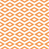Abstract pattern with border diamond shape. seamless tiling back. Ground, orange white color texture Stock Image