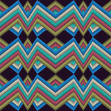 Abstract pattern broken line motley Royalty Free Stock Images
