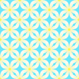 Abstract pattern with camomiles Royalty Free Stock Photography