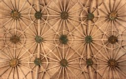 Abstract pattern of a ceiling Stock Photography
