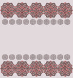 Gray and pink pattern Royalty Free Stock Images