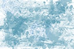 Abstract background in blue tones. An abstract pattern with chaotic spots and stains in blue tones. Background image stock illustration