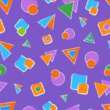 Abstract pattern for children vector illustration