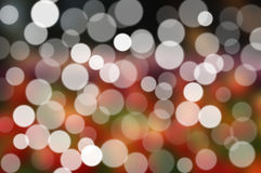 Abstract pattern - circle light photo background Stock Image
