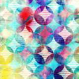 Abstract pattern of circles Stock Image