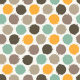 Abstract pattern with circles Royalty Free Stock Photography