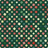Abstract pattern clover retro Royalty Free Stock Images