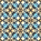 Abstract pattern with coils Royalty Free Stock Photos