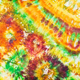 Abstract pattern of cold painted batik Stock Image