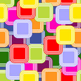 Abstract pattern with colored squares Royalty Free Stock Images