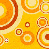 Abstract pattern-12. Abstract colorful pattern with circles and dots. Design element for banners or flyers royalty free illustration