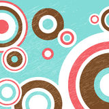 Abstract pattern-07. Abstract colorful pattern with circles and dots. Design element for banners or flyers stock illustration