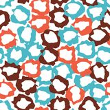 Abstract pattern with colorful elements. stock illustration