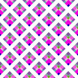 Abstract pattern with colorful rhombuses Stock Image