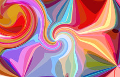 Abstract pattern of colorful soap bubble fantasy Stock Photography