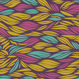 Abstract pattern with colorful waves Royalty Free Stock Photo