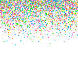 Abstract pattern confetti Royalty Free Stock Images