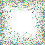 Abstract pattern confetti Stock Image