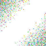 Abstract pattern confetti Royalty Free Stock Image