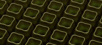 Abstract pattern 3d-generated background. Abstract green pattern 3d-generated background Stock Photos